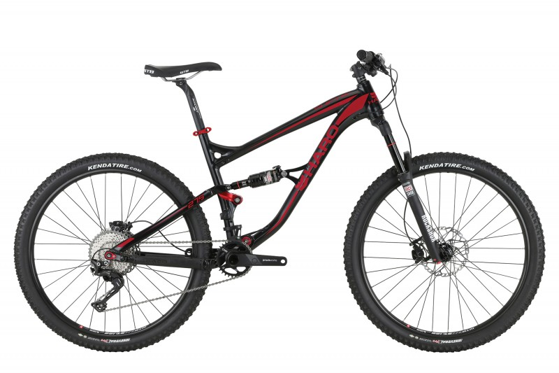 "SHIFT R9 LT 27.5 18"" MY2017 BLACK/RED"